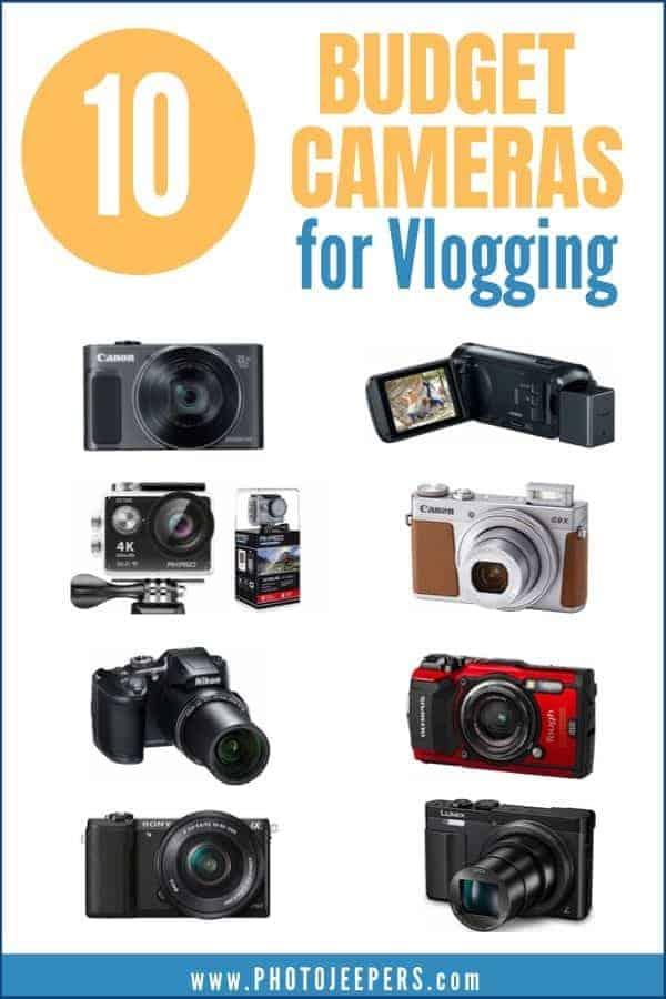 10 budget cameras for vlogging