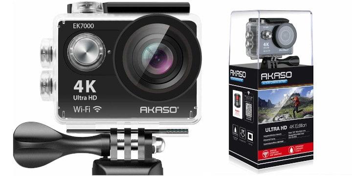 AKASO EK700 budget underwater vlogging camera