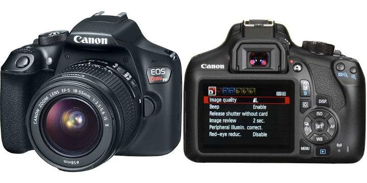 Canon EOS Rebel T6: budget vlogging camera