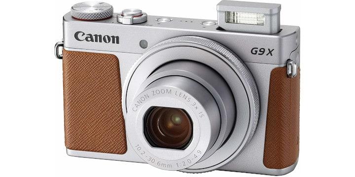Canon PowerShot G9 X MarkII - budget vlogging camera