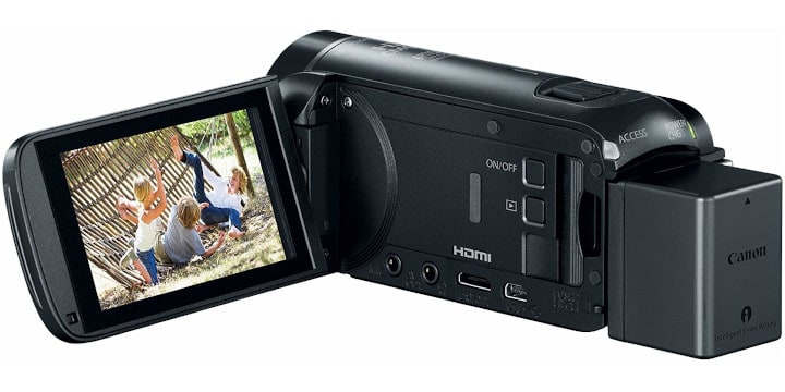 Canon VIXIA HF R800 - budget vlogging camera