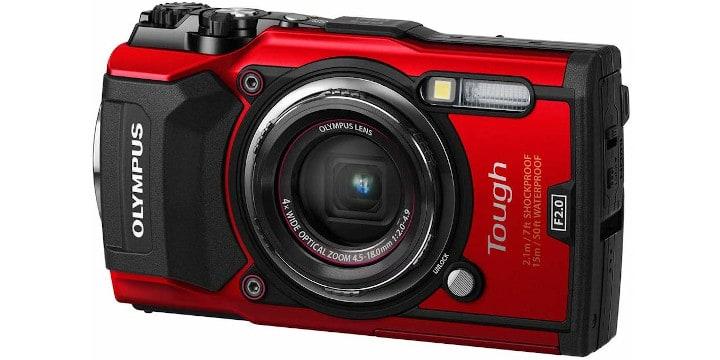 Olympus TG-5 budget camera for vlogging
