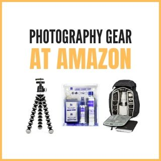 Photography gear at Amazon