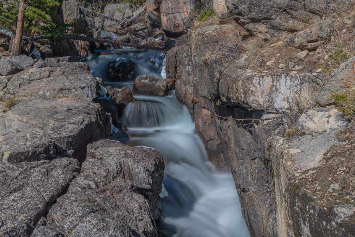 Crazy Creek Falls, Montana using the Kase ND1000 filter.