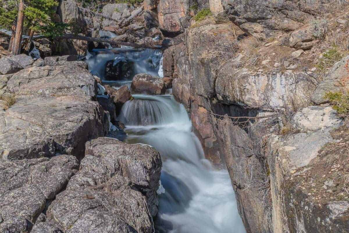 Crazy Creek Falls, Montana using the Kase ND64 filter.