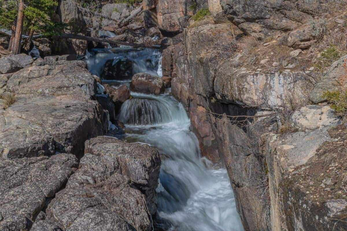 Crazy Creek Falls, Montana using the Kase ND8 filter.