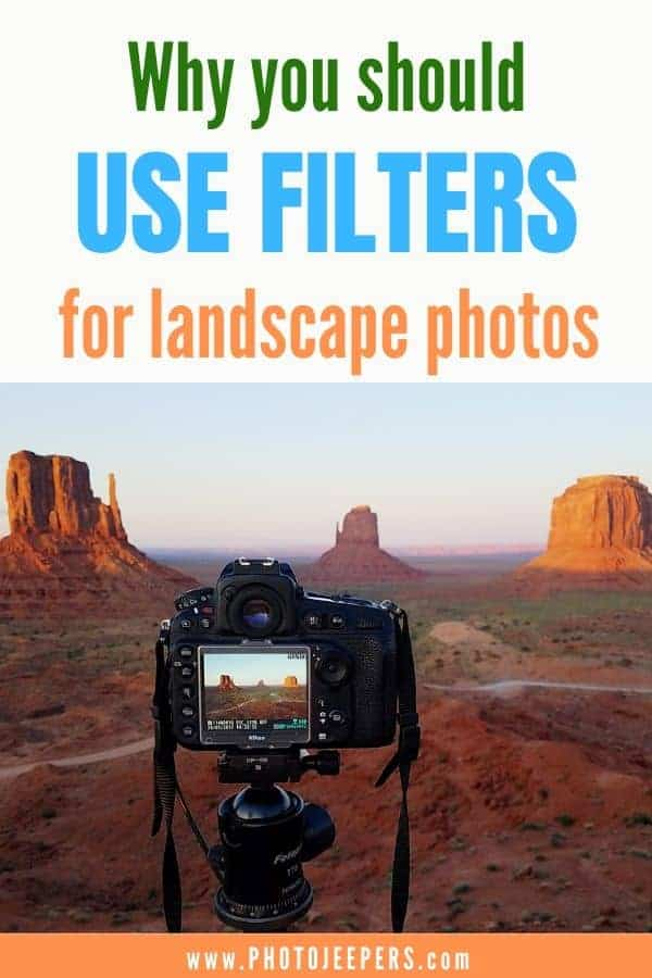 Why you should use filters for landscape photos