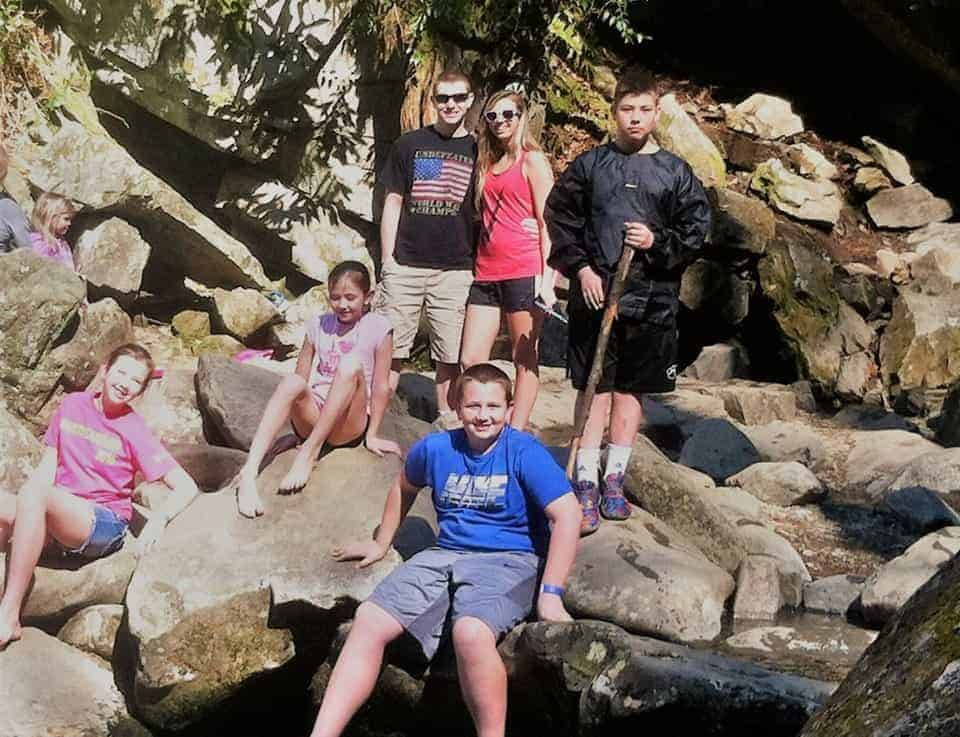 Great Smoky Mountains is a spring break family destination.
