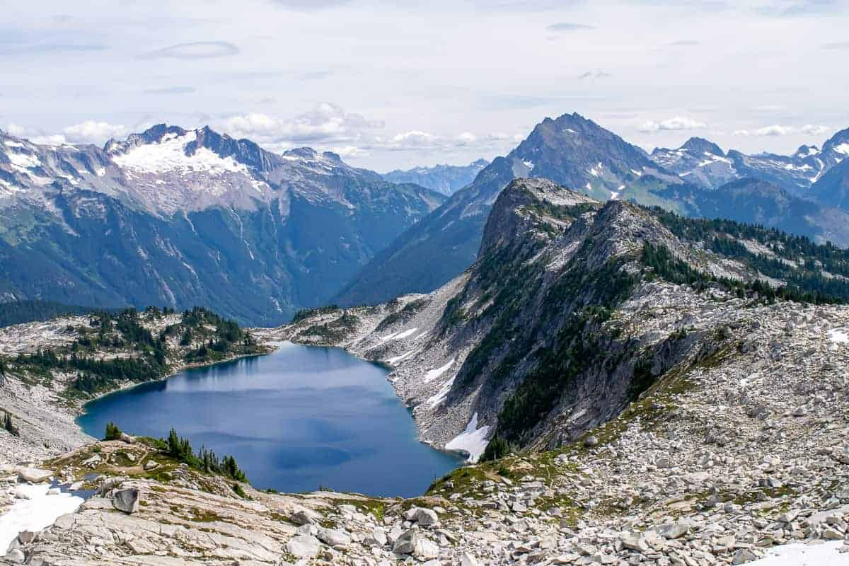 North Cascades Hidden Lake Lookout.