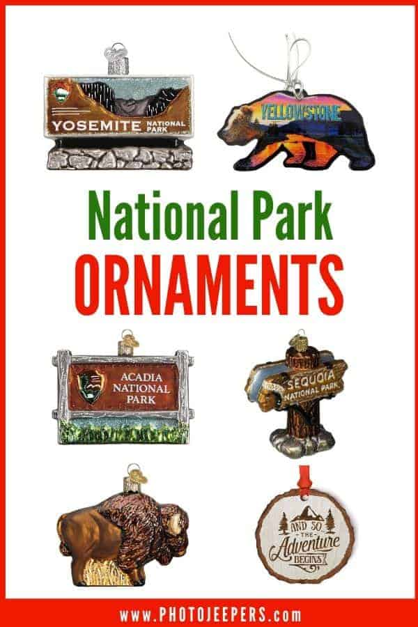 Decorating a Christmas tree with national park ornaments is a festive way to relive the memories of your national park adventures. #nationalparks #christmas #ornaments #photojeepers