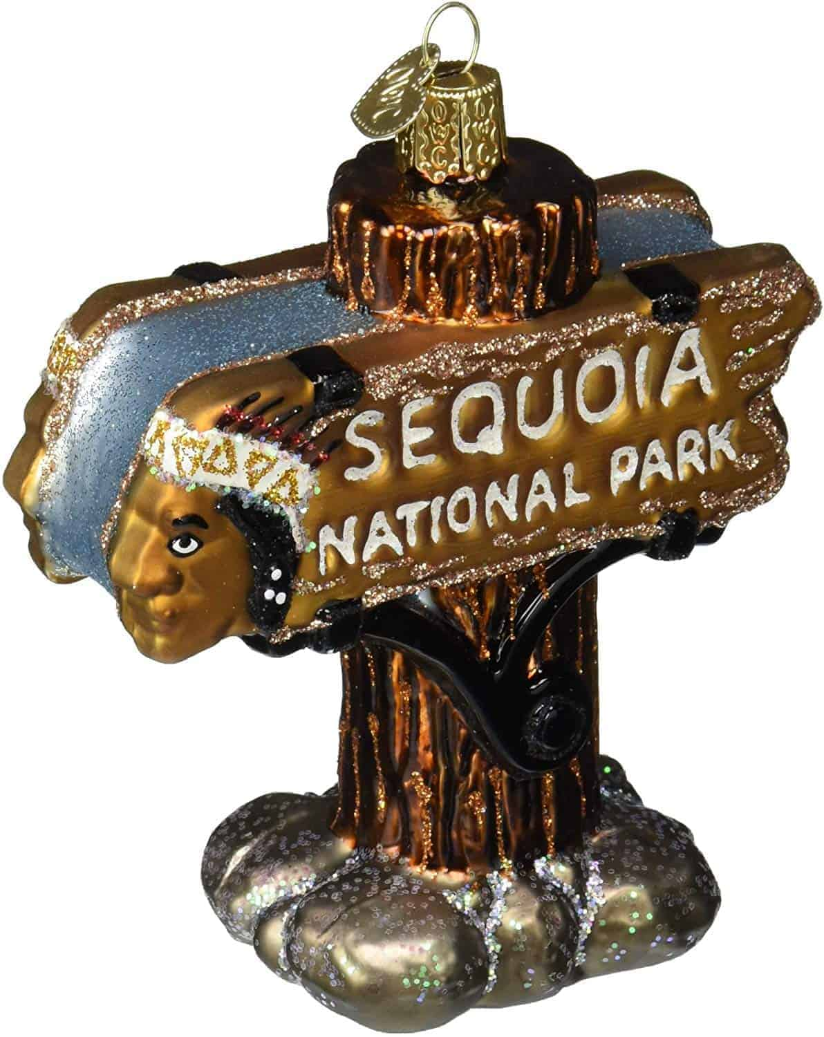 Sequoia-National-Park-ornament-Christmas