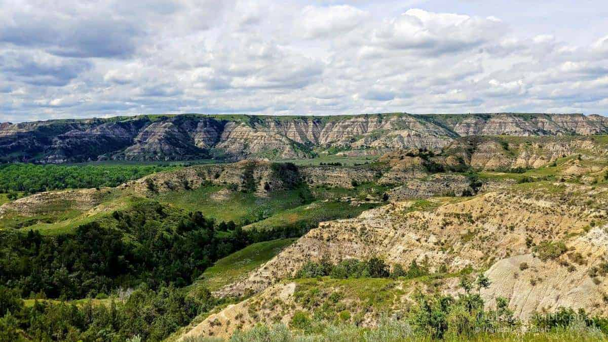Badlands of Theodore Roosevelt National Park