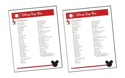 Disney Packing List: What to Pack for Day at Disney With Kids