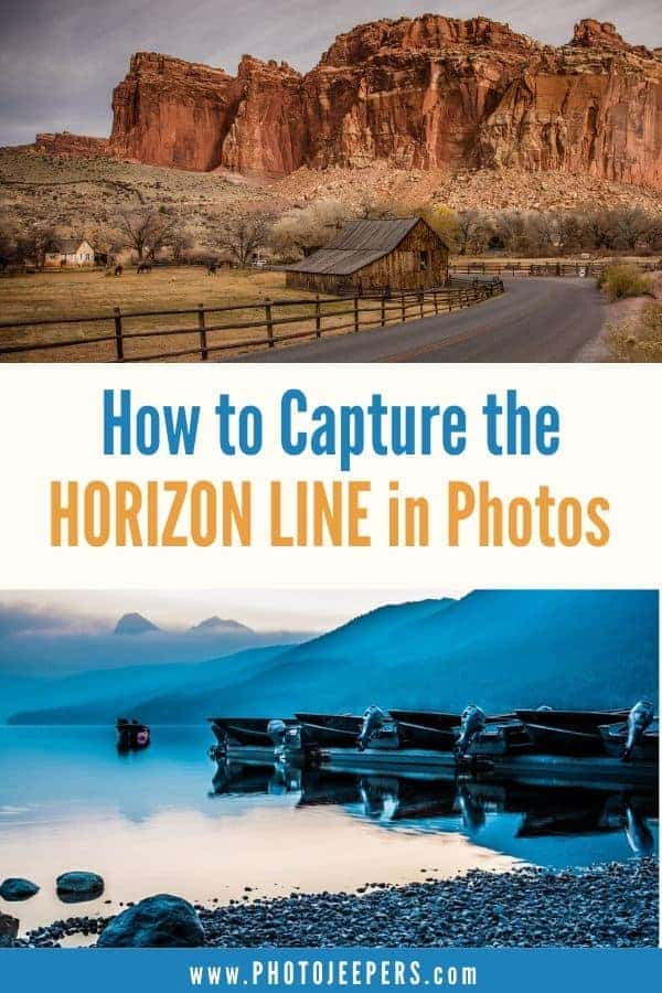 Photographers can use the horizon line to highlight certain aspects of an image, create impact, and compose a unique shot that is pleasing to the viewer. #photography #photographytechniques #landscapephotography #photojeepers