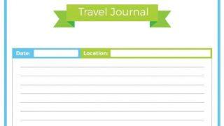 Travel Binder: Travel Journal