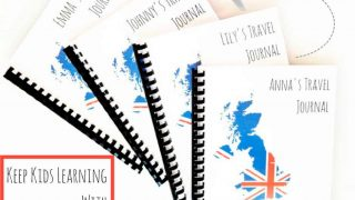DIY Travel Journal for Kids Printable