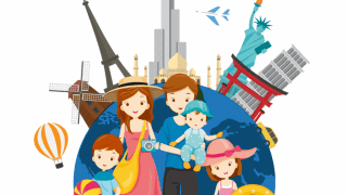 Family Travel Planner With Checklist