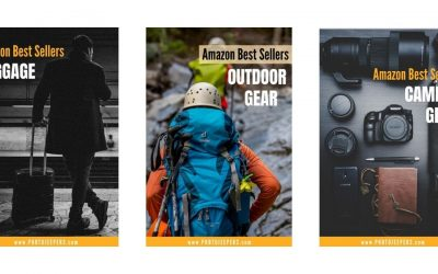 Amazon Best Seller Lists for Travel and Photography