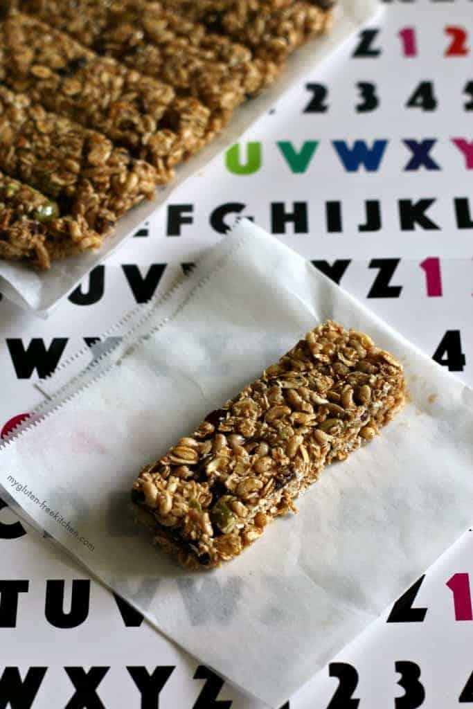 Gluten-free Top 8 Allergen-free Granola Bars