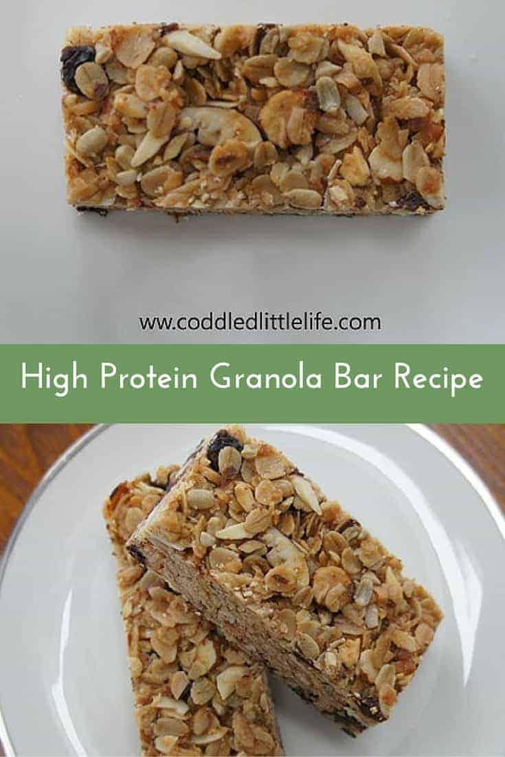 Sarah's Miller's High-Protein Granola Bar Recipe