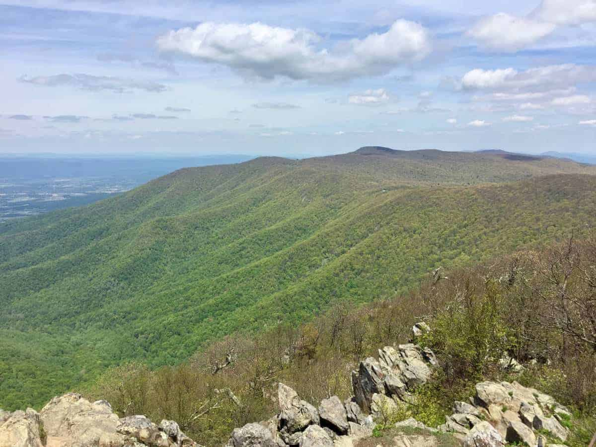 The beauty of Shenandoah National Park in May.