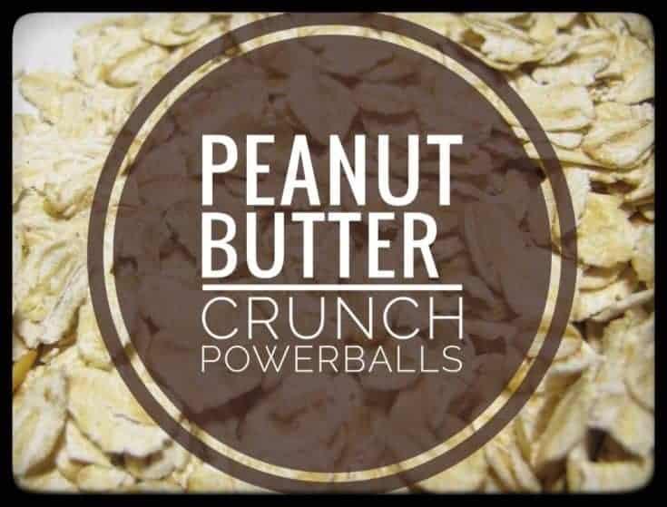 Peanut Butter Crunch Powerballs