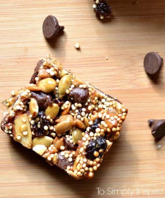 Homemade Superfood Energy Bars Recipe