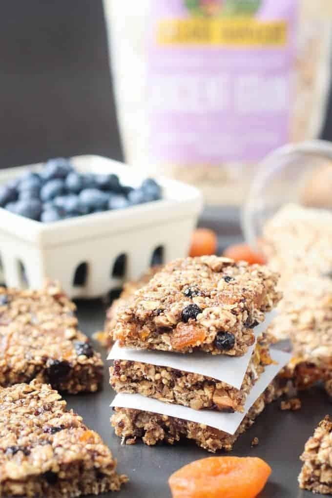 Ancient Grains Breakfast Bars (Vegan, Gluten Free)