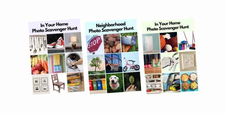 Photo Scavenger Hunt, Activities and Games