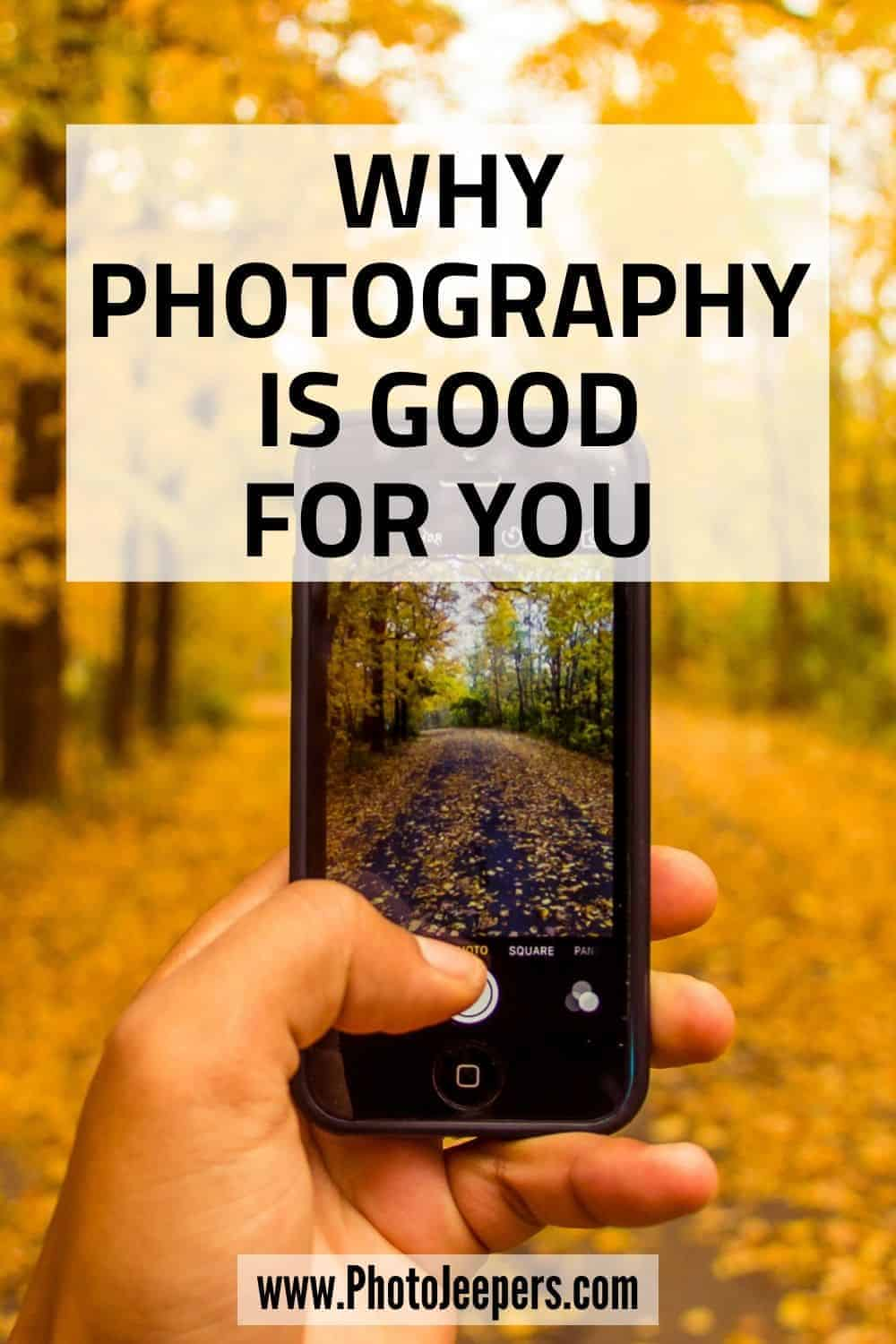 Learn how photography is good for you. It helps with stress, anxiety and grief! Read stories of healing and inspiration. #photography #mentalhealth #photographytips #photojeepers
