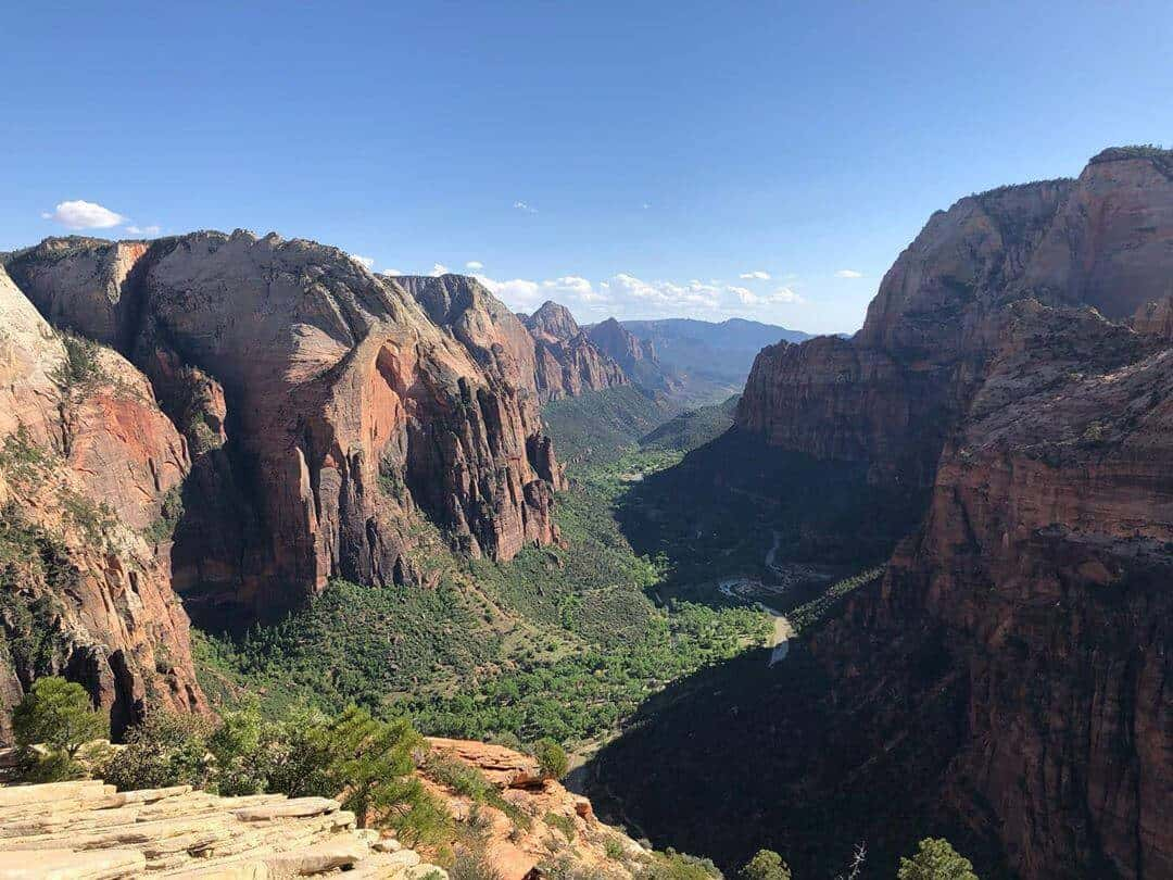 The stunning views at Zion National Park.