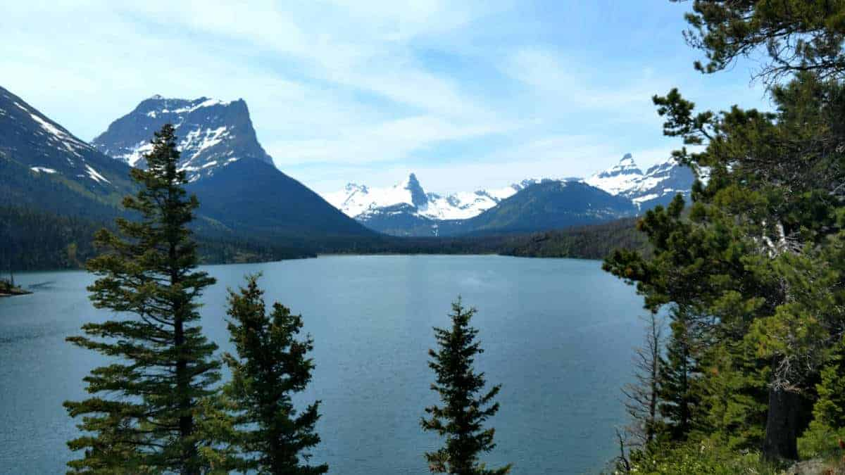 Stunning landscape to explore at Glacier National Park.