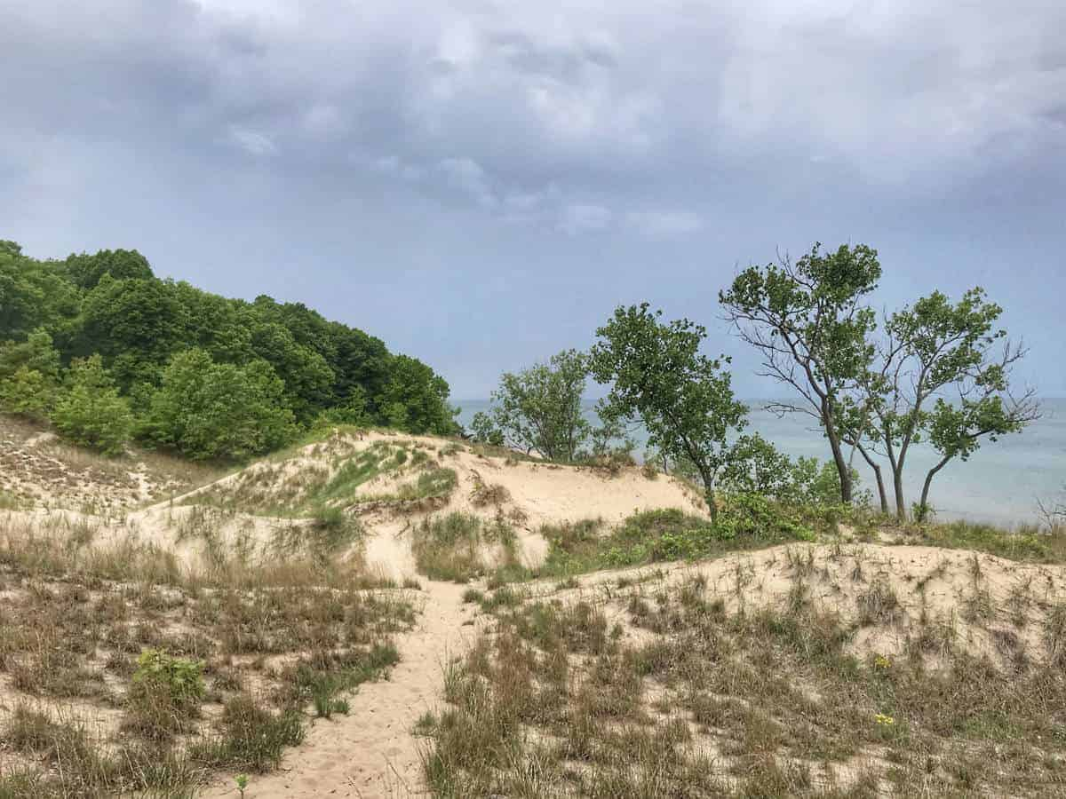 Indiana Dune is a cool national park to visit in June.