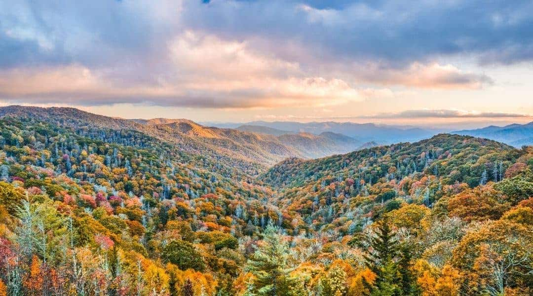 US national parks in the fall
