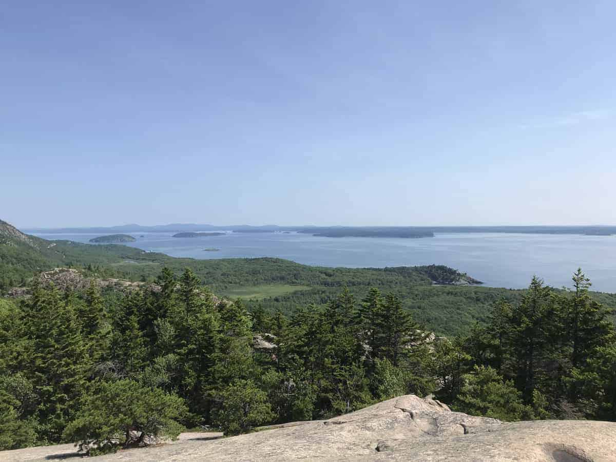 The Beehive trail in Acadia is the perfect summer hike!