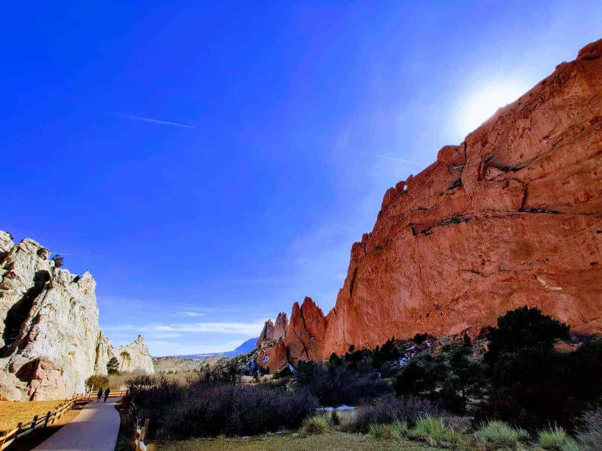Explore Garden of the Gods walking along the trails.