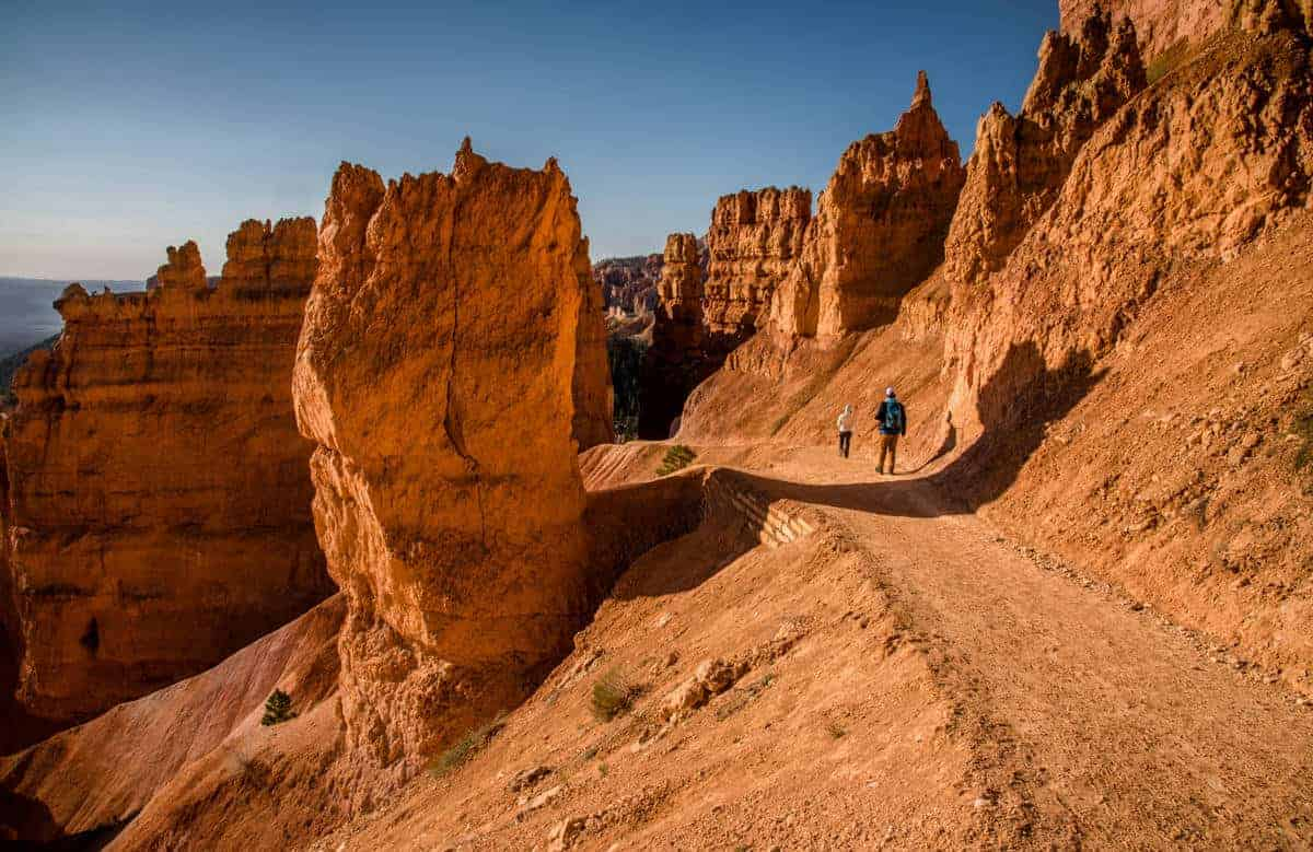 Enjoy the hoodoos up close along the Navajo Loop Trail at Bryce Canyon