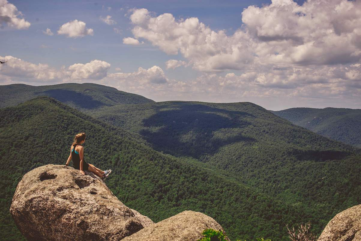 Old Rag at Shenandoah National Park is the perfect summer hike!