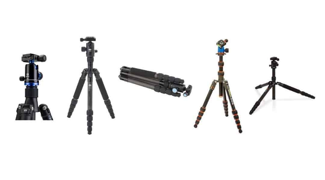 6 Best Lightweight Travel Tripods