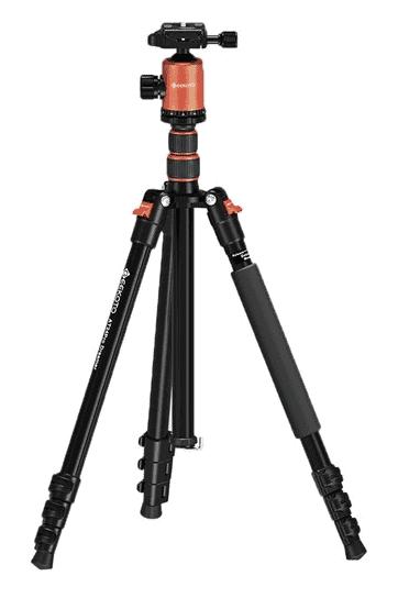 GEEKOTO tripod for heavy lenses