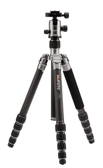 MeFoto Globetrotter tripod for heavy lenses