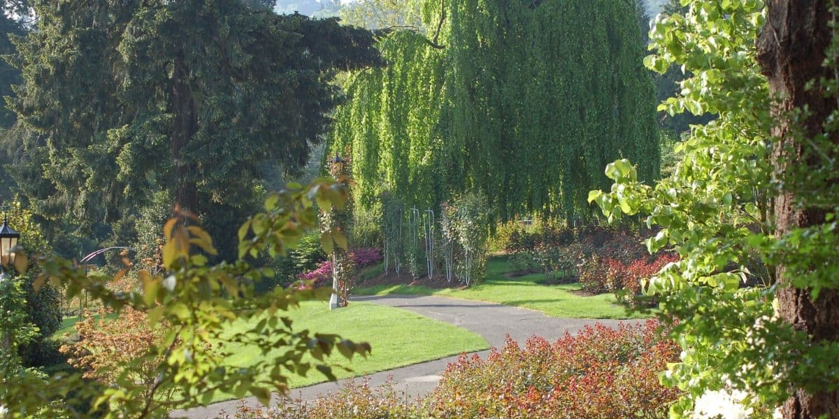 Portland, Oregon has many parks to enjoy in the summer.