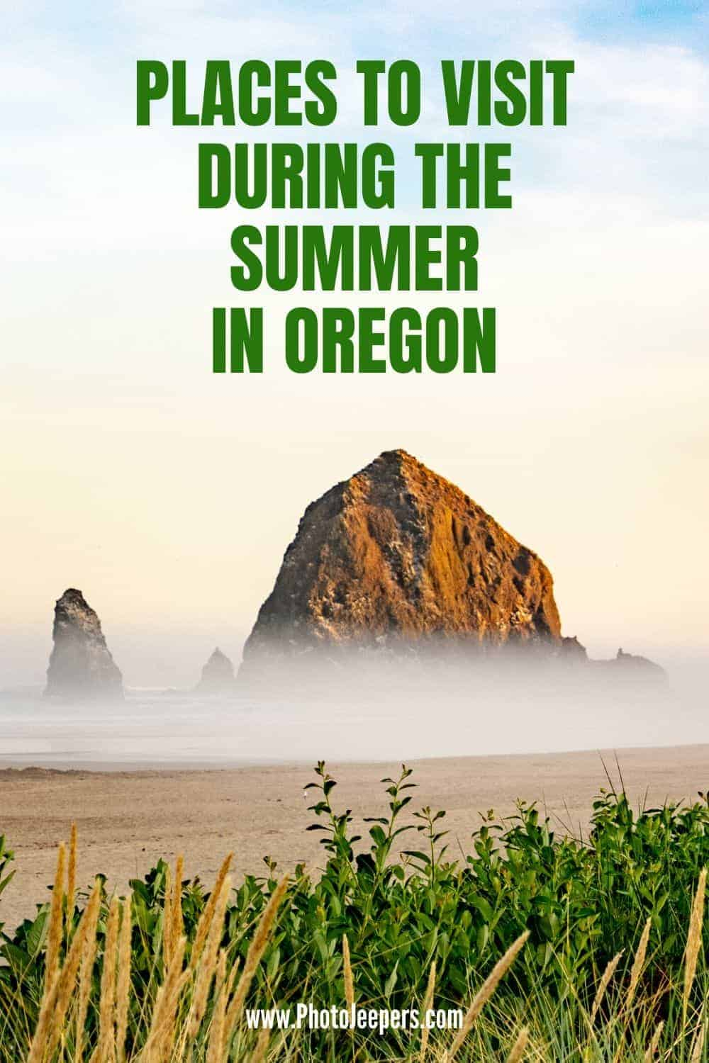 Fun things to do in Oregon in the summer: explore the coastal beaches of Oregon, hike the trails in Oregon, enjoy lake activities in Oregon, visit the town in Oregon. #oregon #portland #summervacation #photojeepers
