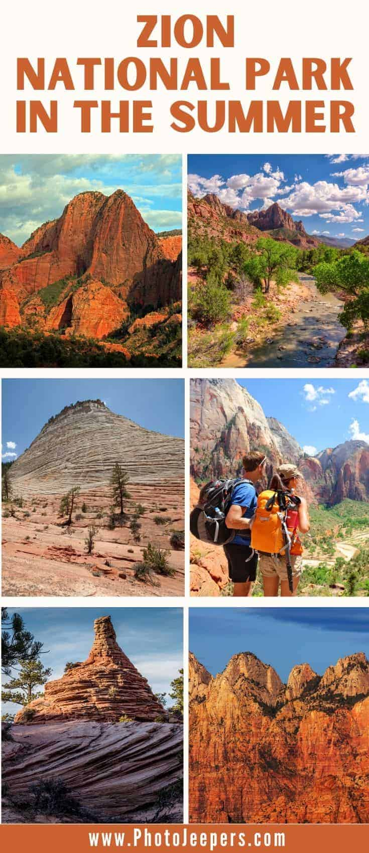 Fun summer activities at Zion National Park. Use this guide to plan your trip to visit Zion in the summer.