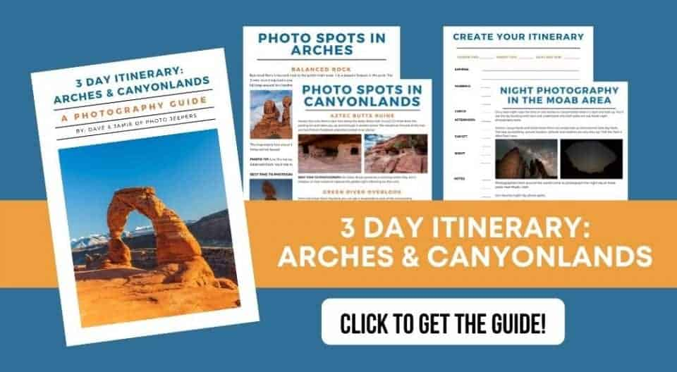 Arches 3 Day Itinerary