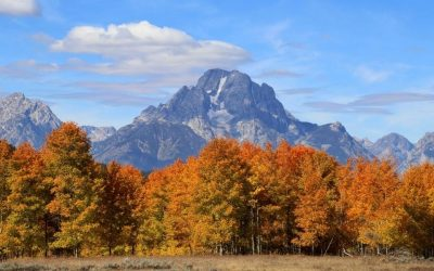 Outdoor Adventure at Grand Teton in the Fall