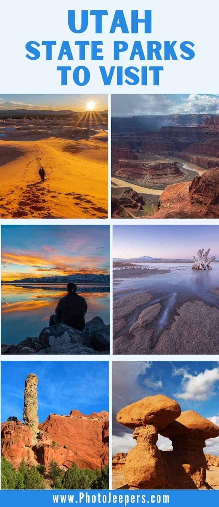 Utah State Parks to Visit