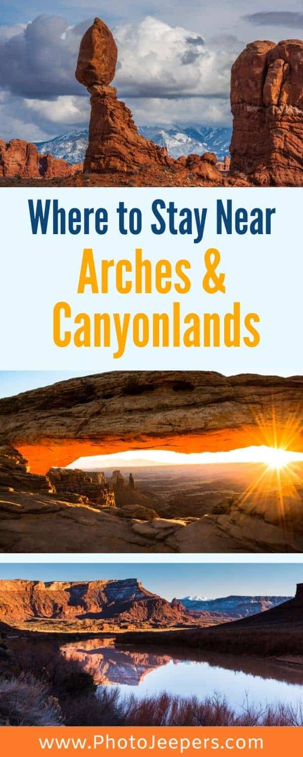 Where to Stay Near Arches and Canyonlands