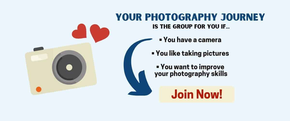 Sign up for the Your Photography Journey group!