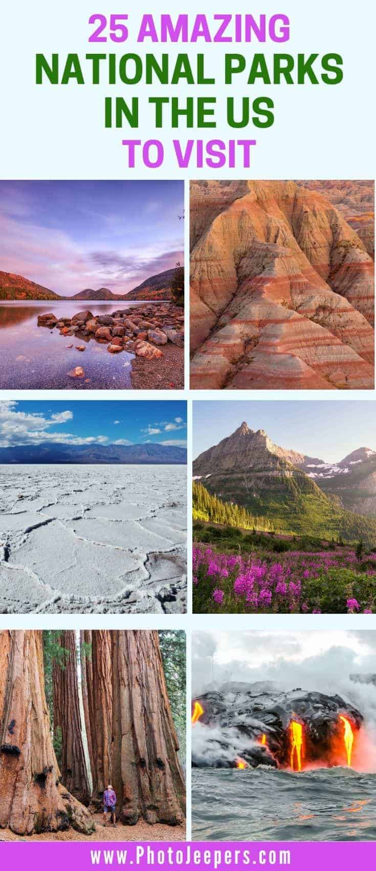 25 amazing national parks to visit